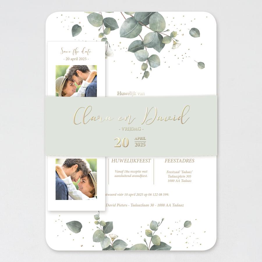 Originele trouwkaart