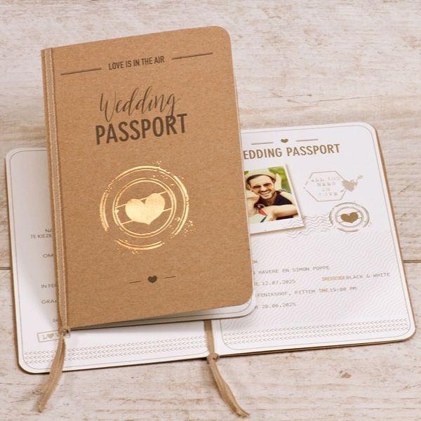 Wedding paspoort eco