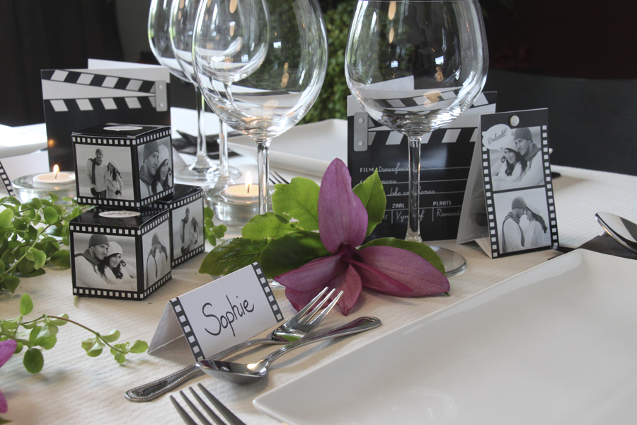 Fleur de feesttafel van je huwelijk op met stijlvolle for Tafeldecoratie huwelijk