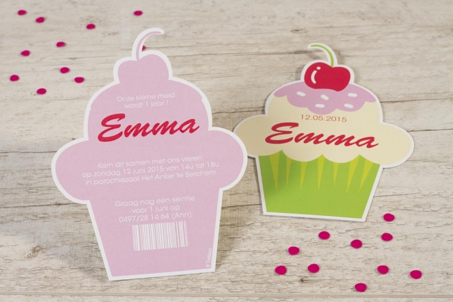 babyborrel organiseren cupcake uitnodiging