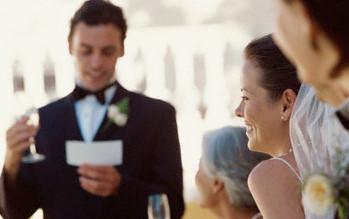 Eeuwige roem dankzij de perfecte huwelijksspeech
