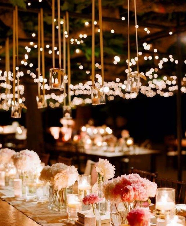 Bruiloftverlichting - hangverlichting