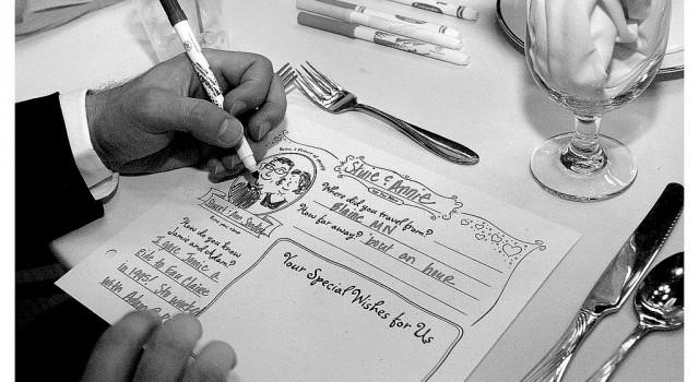 gastenboek huwelijk - origineel idee