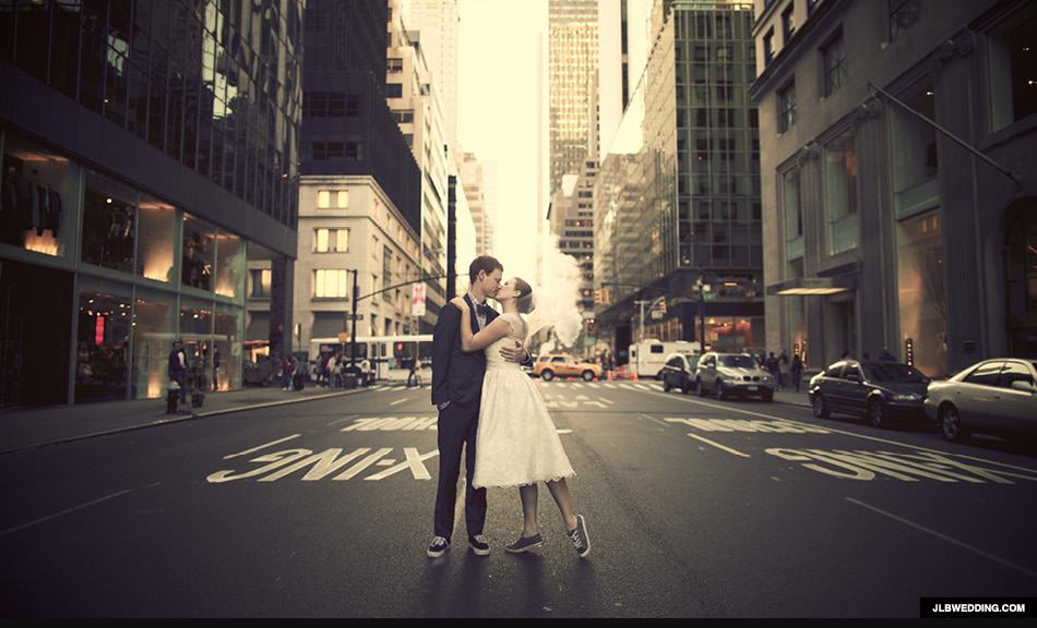 hipster wedding new york - hipster huwelijksfoto's JLBWEDDING