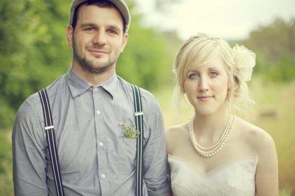 originele trouwfoto's - hipster huwelijk 1