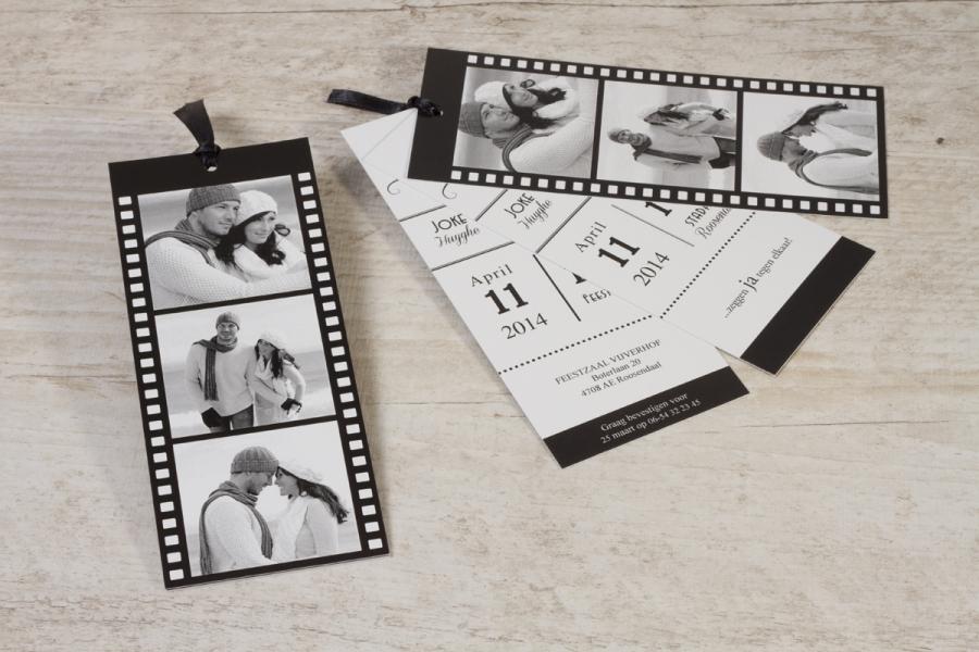 originele trouwuitnodiging leuke formaten