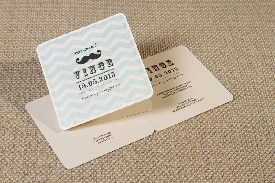 retro babykaartje geboortekaartje 3