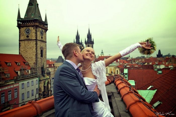 trouwfoto trouwfeest organiseren stad