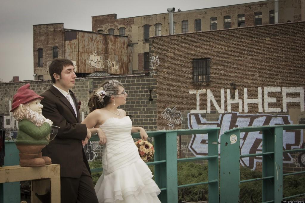 urban huwelijksfoto's hipster wedding