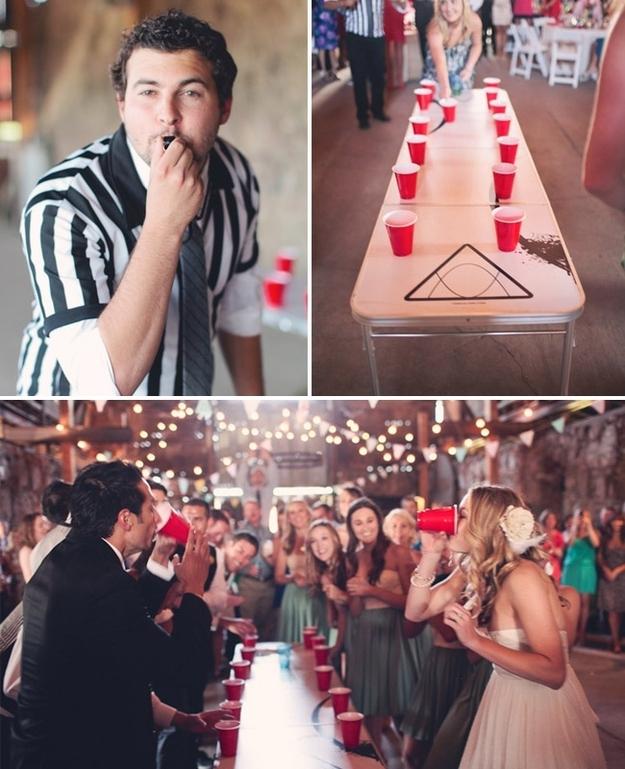 ideeën huwelijk - drinkspelletjes huwelijksfeest