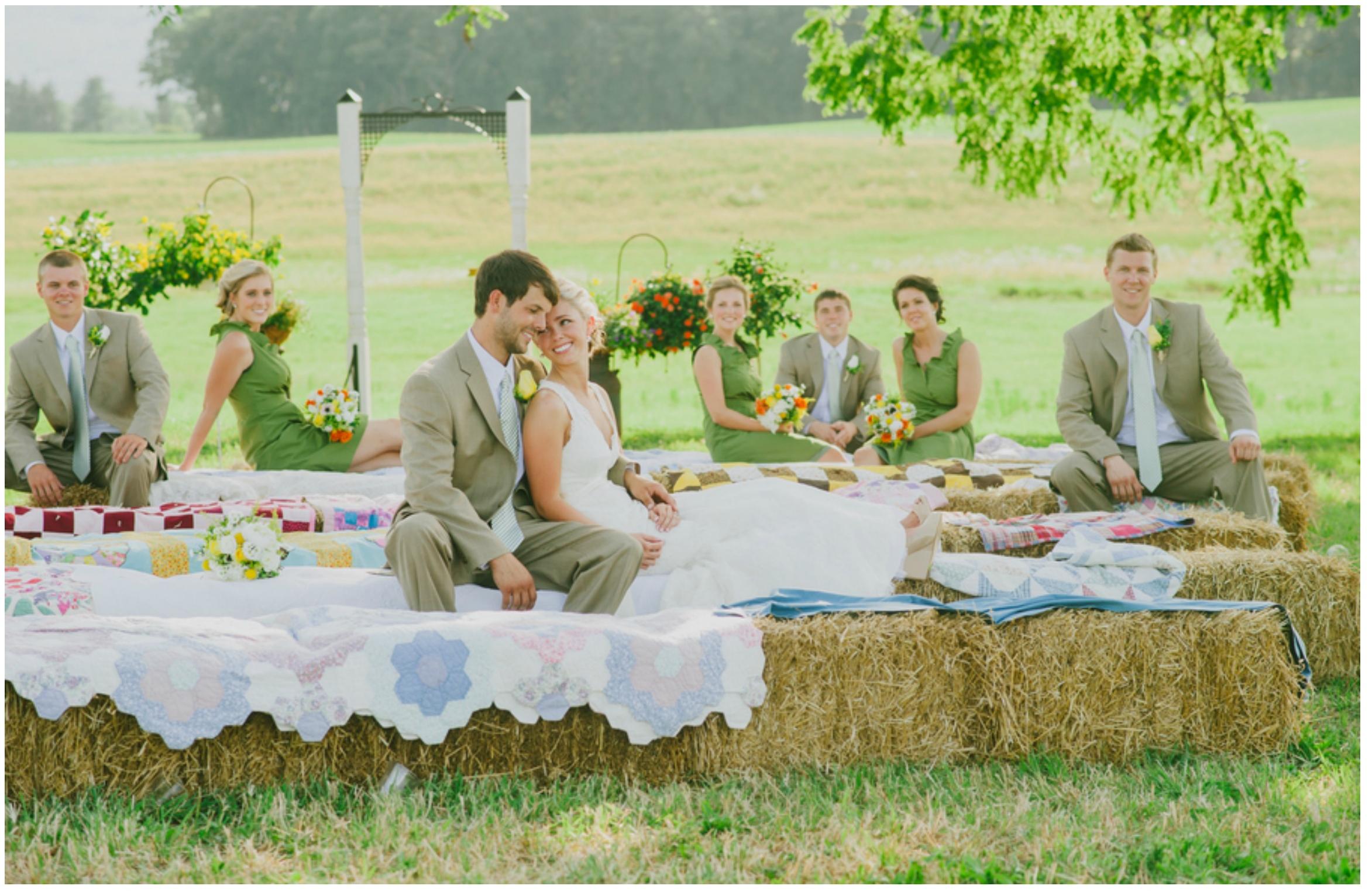 Idées pour le mariage de pique-nique
