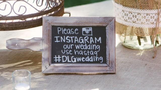 wedding hashtag - hashtag voor je huwelijk