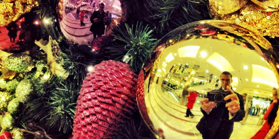 fotokaart kerst selfies camerastandpunt
