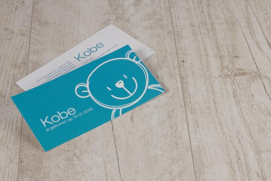 moderne geboortekaartjes design babykaartje naam
