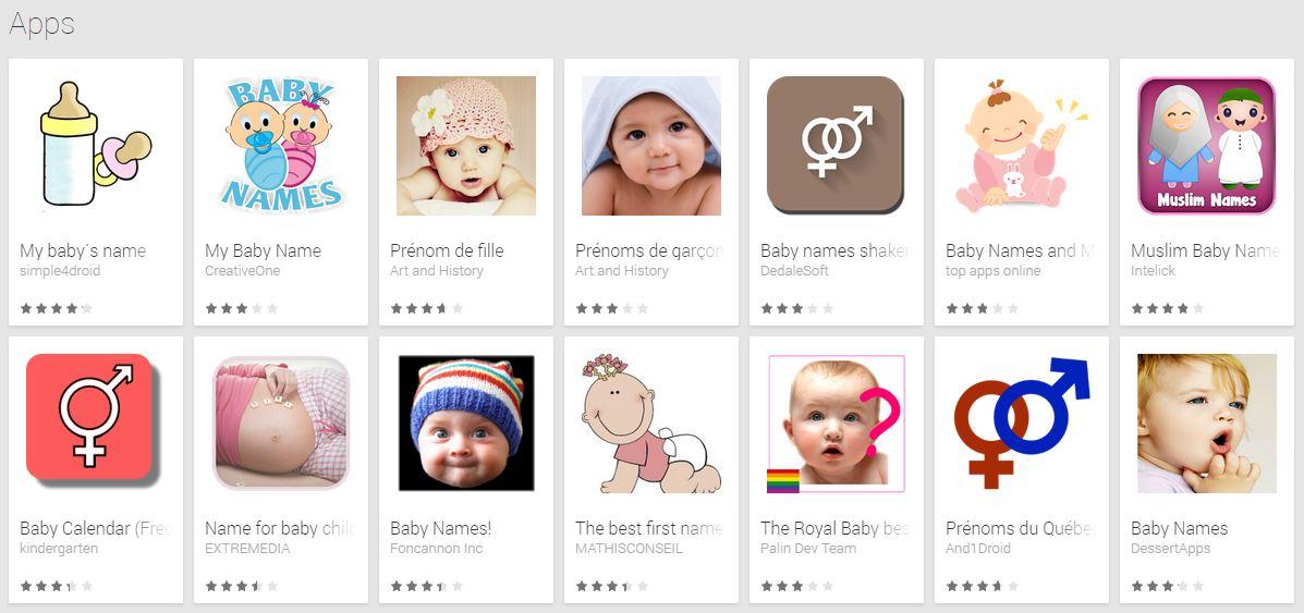 prénom bébé app