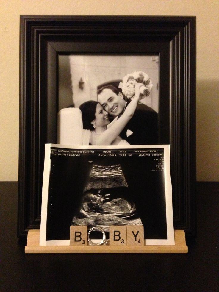 Je zwangerschap aankondigen maak het uniek tadaaz blog - Smeedijzeren prieel leunde tegen ...