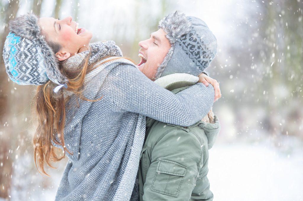 kerstfoto sneeuwfoto