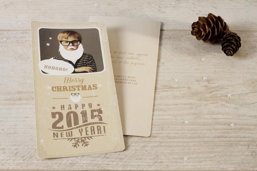 cartes de vœux noël 2015 avec photo personnalisées