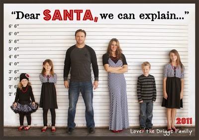 kerstkaart met foto maken familiefoto
