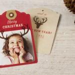 originele kerstkaarten maken met eigen foto