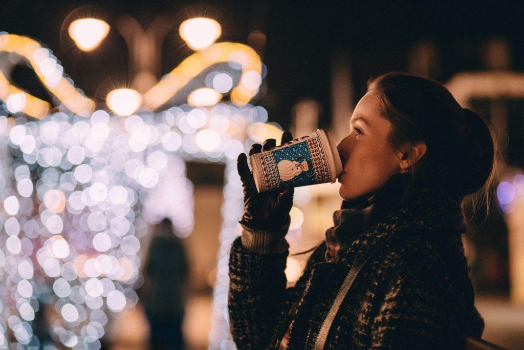 Kerstmarkten starbucks
