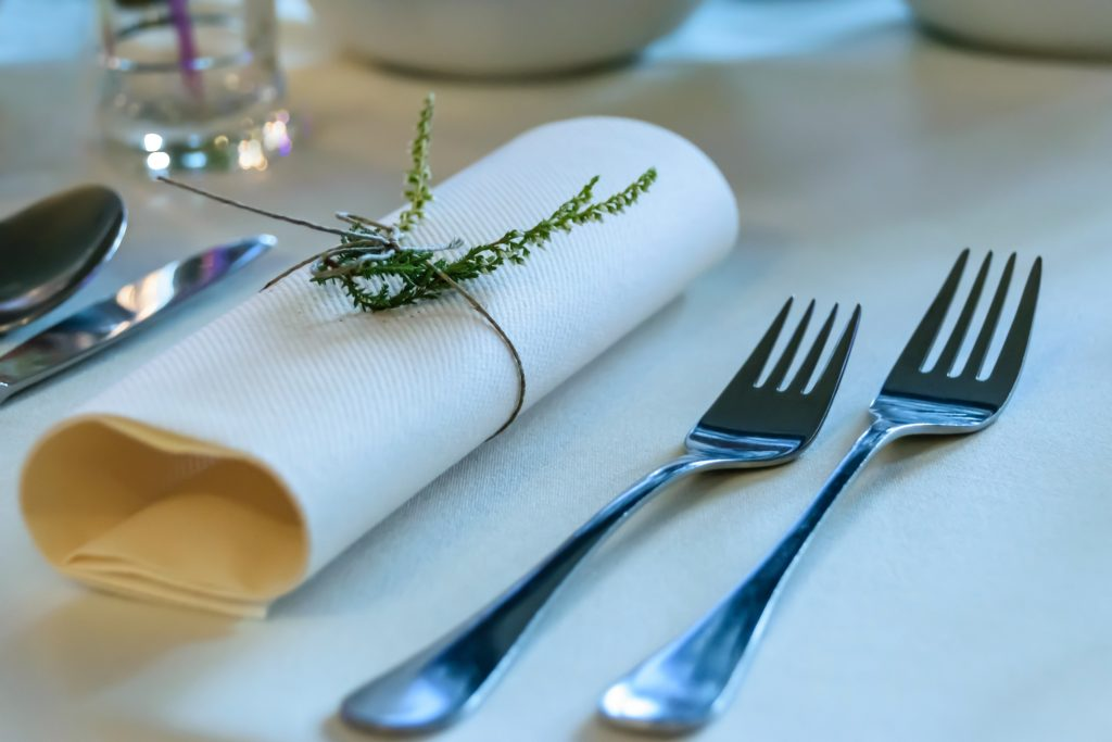 feesttafel servetten decoratie