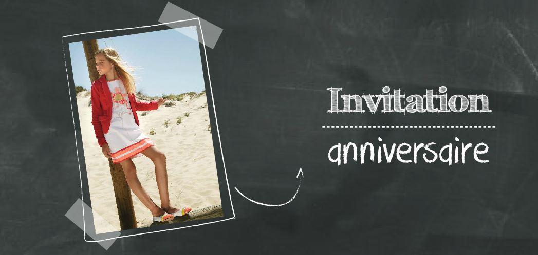 C est la f te quelles invitations pour un anniversaire d for Repas original pour anniversaire