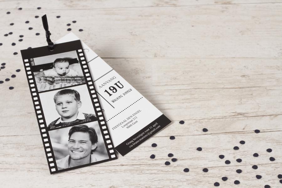 50ste verjaardag uitnodiging vijftig jaar