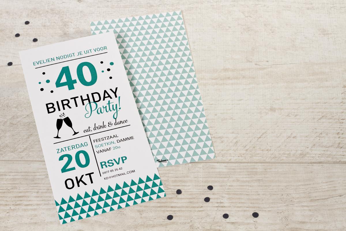 40 jaar verjaardag organiseren Je 40ste verjaardag? Dat vraagt om een feestje! 40 jaar verjaardag organiseren