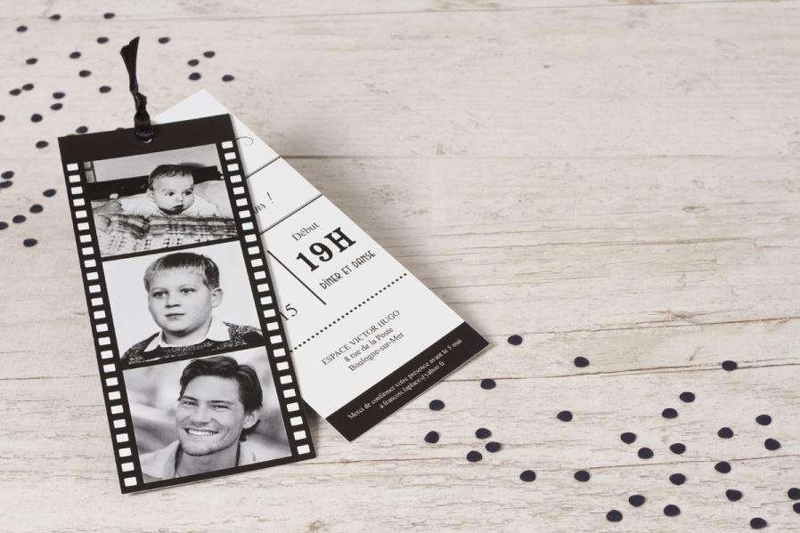 Très En panne d'idées pour le choix de l'invitation à vos 50 ans ? LO12