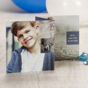 fotokaarten maken uitnodiging met foto