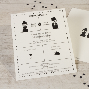 uitnodiging huwelijk 3