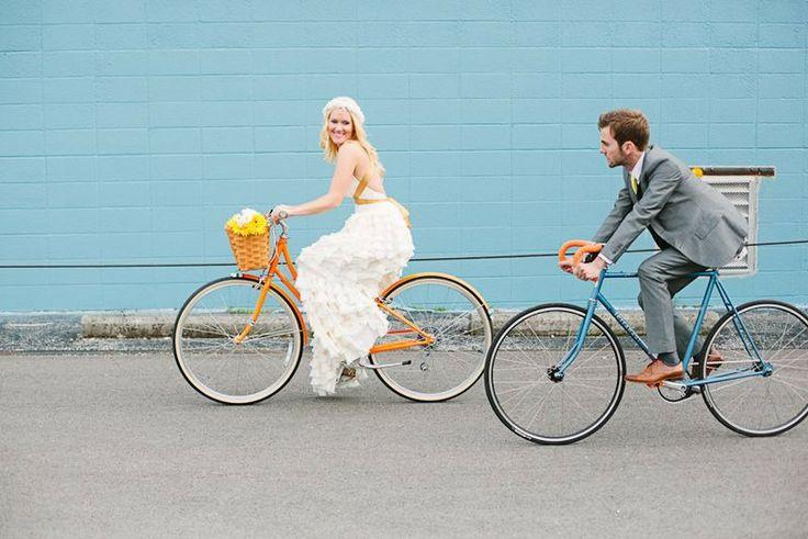 low budget trouwvervoer fietsen