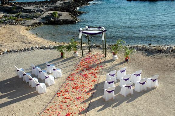 starnd trouwfeest goedkoop trouwen