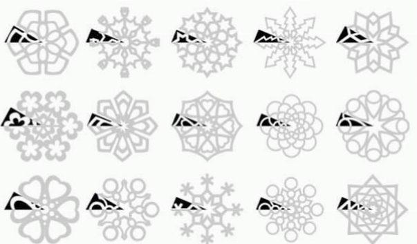 kerstactiviteiten diy sneeuwvlokje