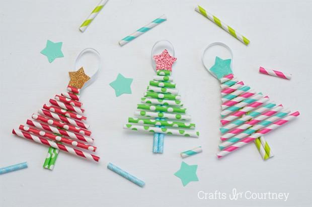 knutselen voor kerst kerstboom
