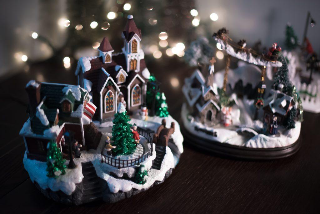 kerstversiering kerststal