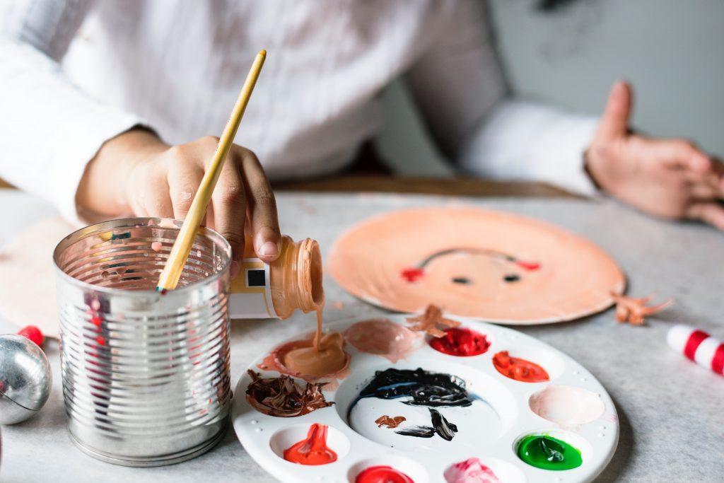 kerstversiering tekening kinderen