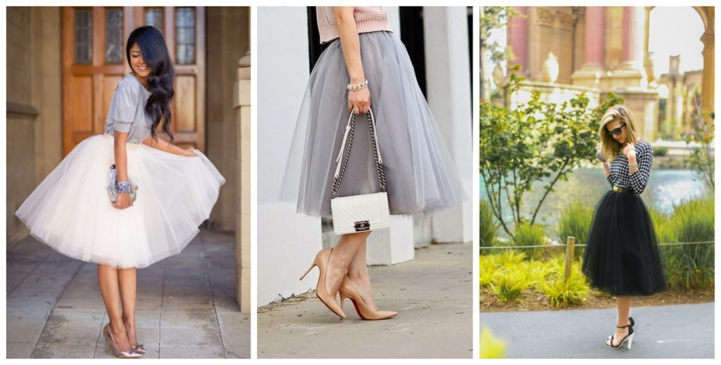 tulle kerstoutfit