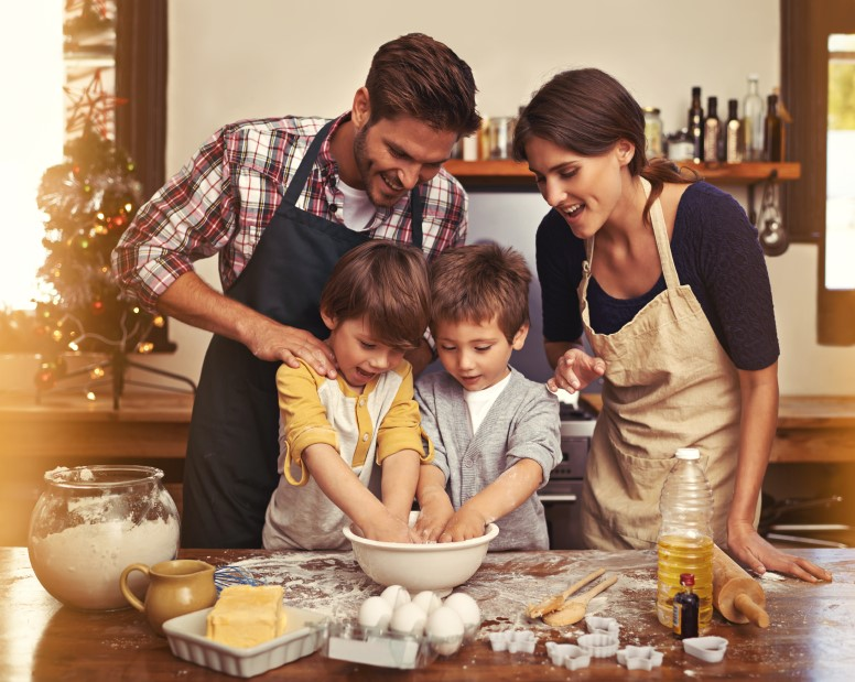 bakken met kinderen vakantie activiteit