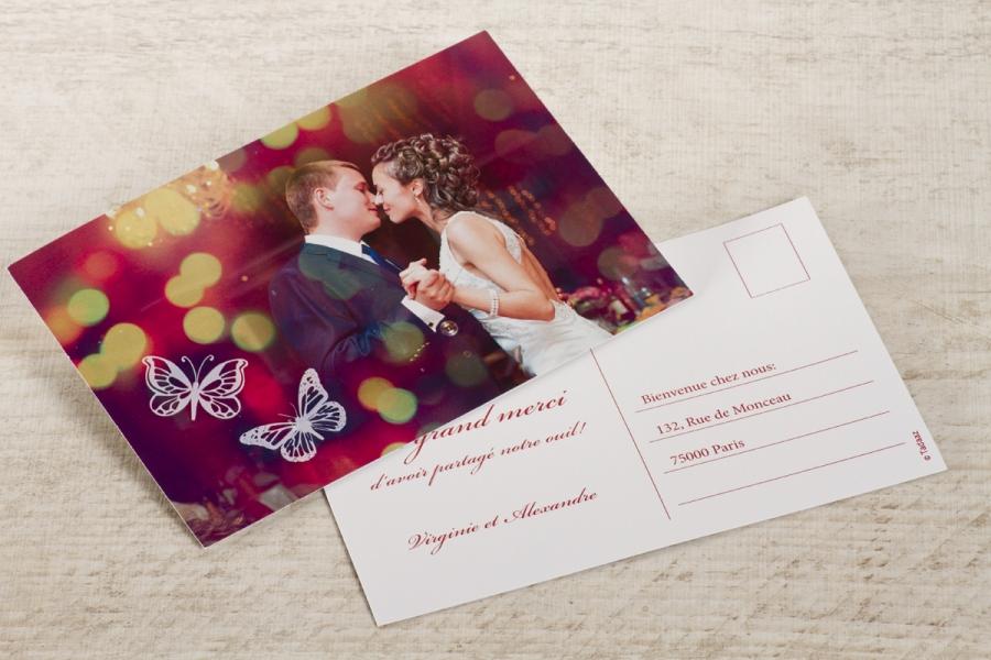 cartes remerciement mariage