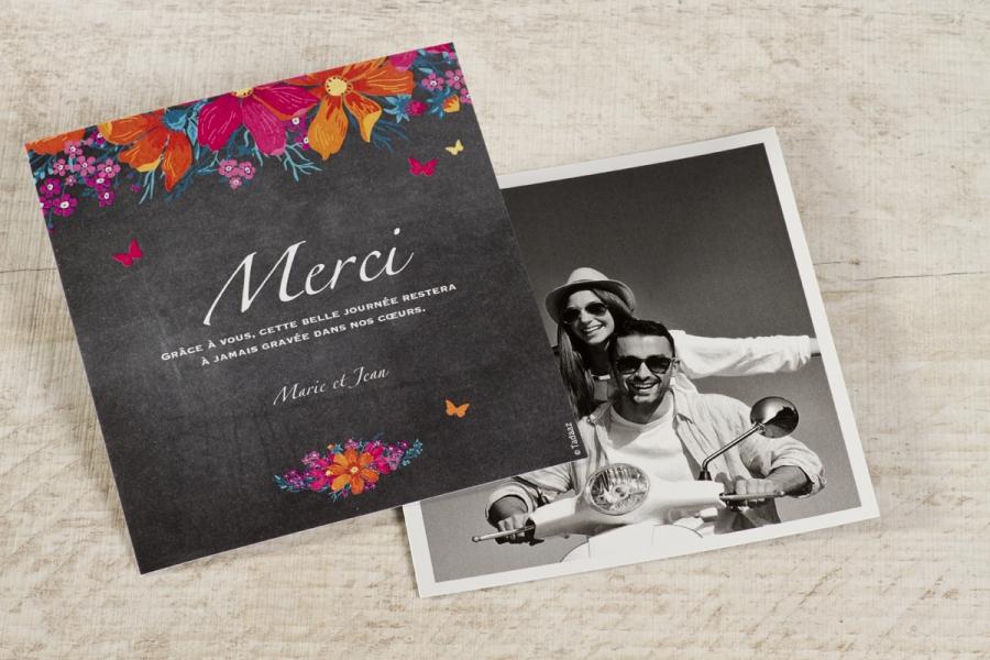 cartes remerciements mariage