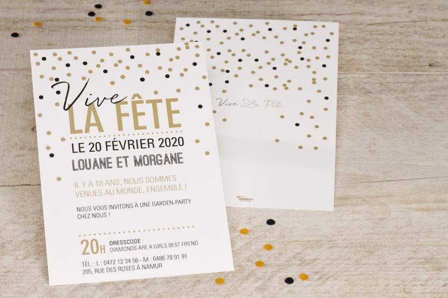 invitation anniversaire 30 ans