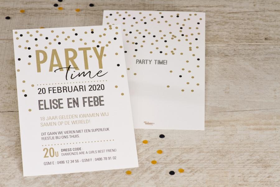 Een Uitnodiging Voor Een Verjaardagsfeestje Op Elke Leeftijd