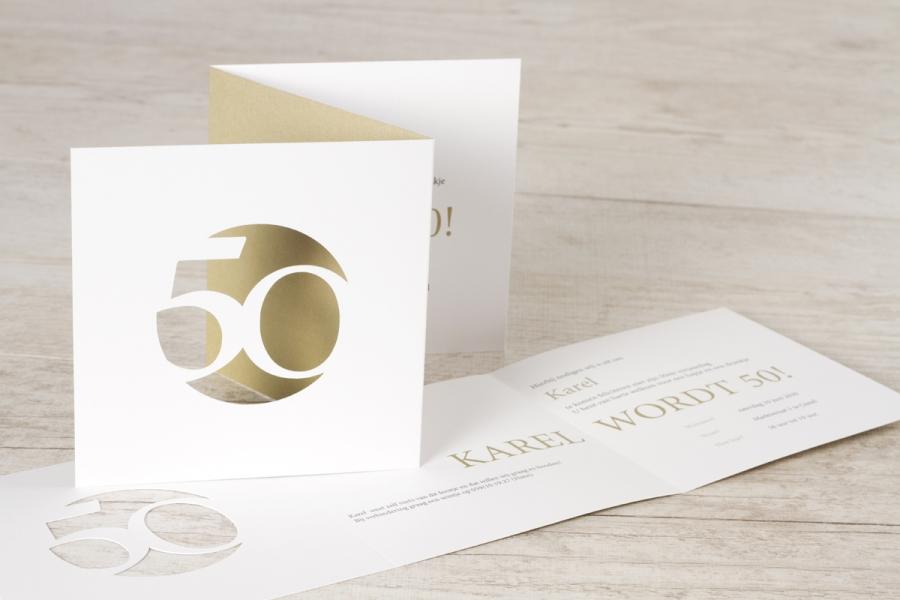 uitnodiging verjaardag 50 jaar