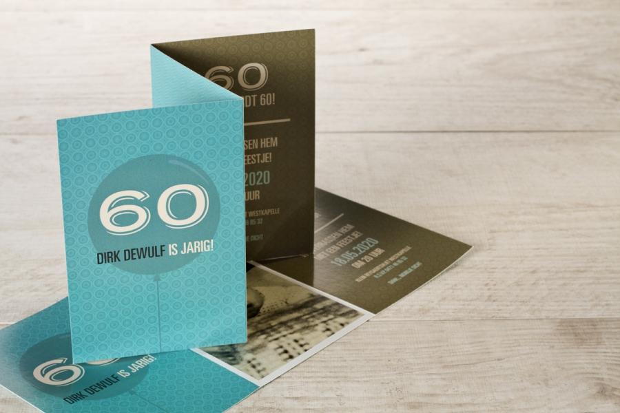 uitnodiging verjaardag 60 jaar