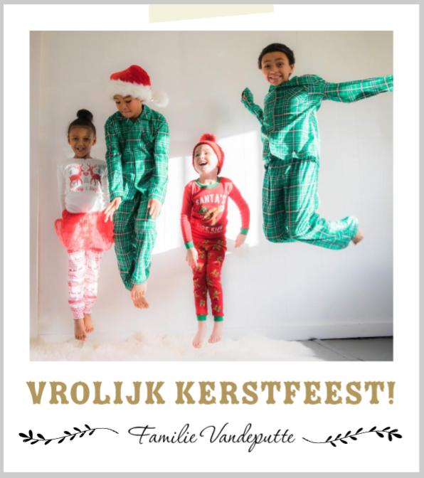 kerstkaarten met foto origineel