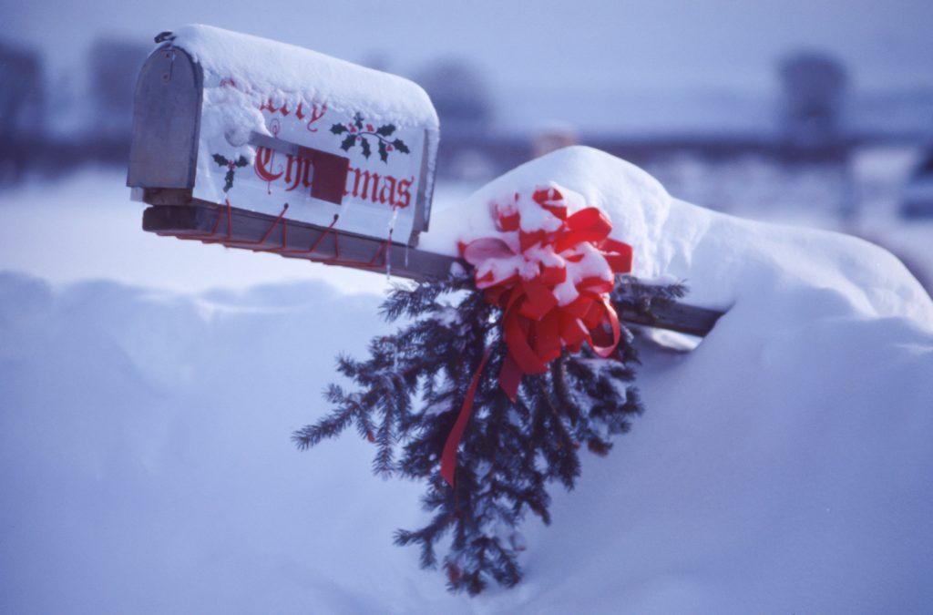kerst kaartje sturen