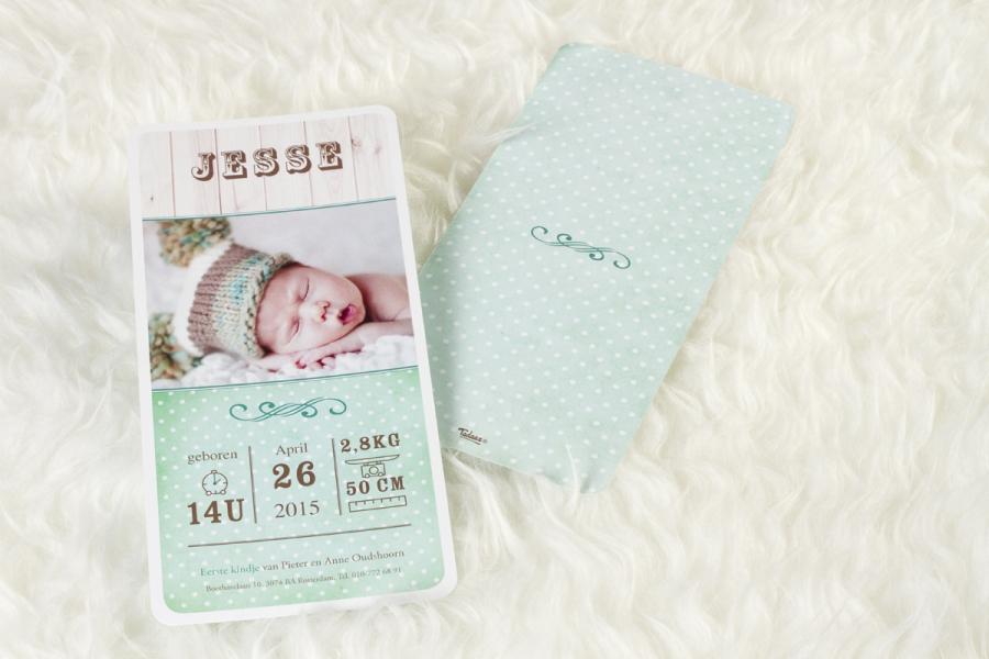 sobere geboortekaartjes ontwerpen