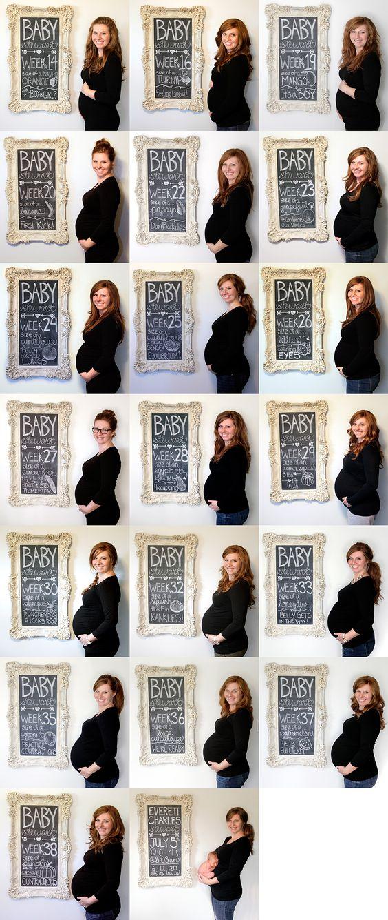 zwangerschap week per week